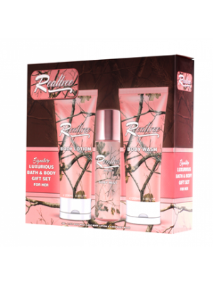 Realtree Mountain Series for Her  Bath/Body 3 Piece Gift Set