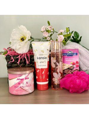 Fresh Mornings Spa Gift Basket