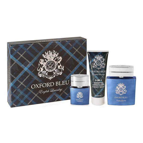 Oxford Bleu 3 Piece Fragrance Gift Set