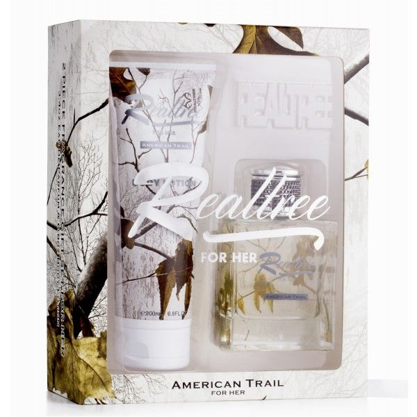 Realtree American Trail For Her 2 Piece Gift Set