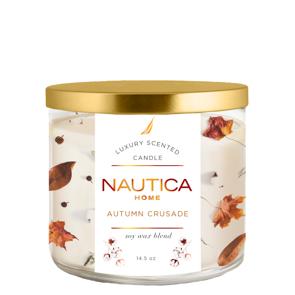 Nautica Autumn Crusade Candle