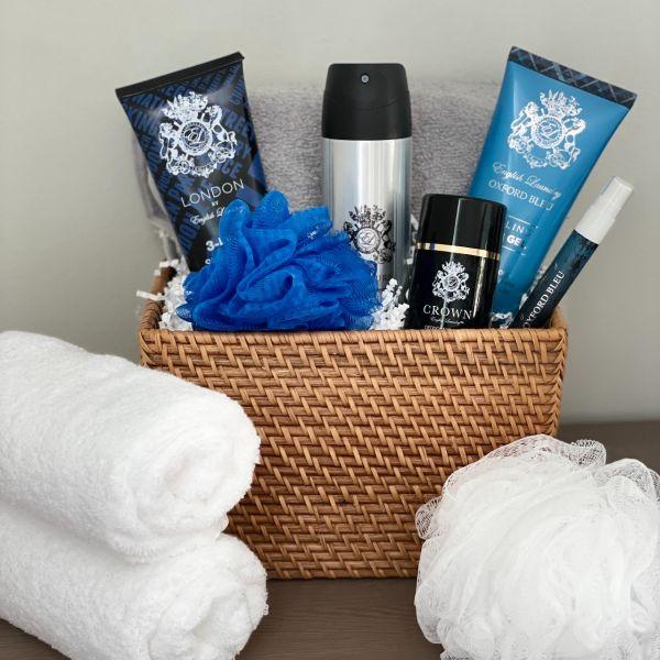 English Laundry Spa Gift Basket For Men