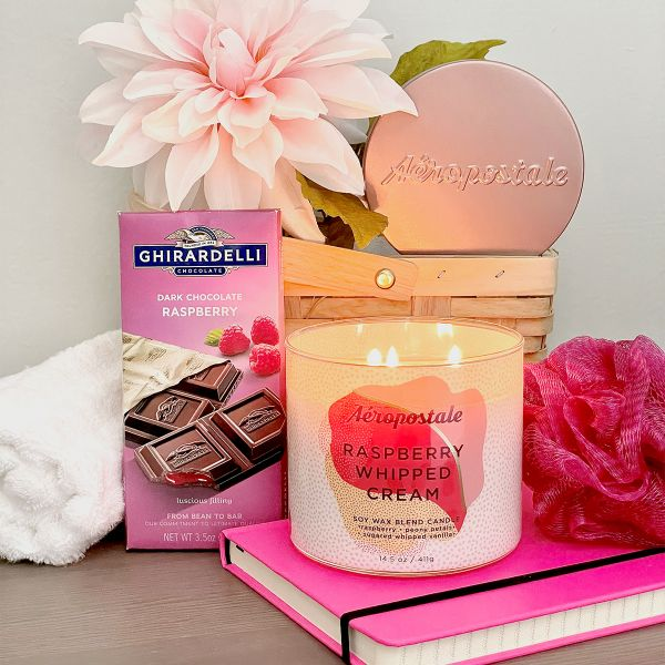 Raspberry Mood Gift Basket