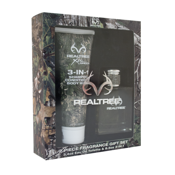 Realtree for Him 2 Piece Gift Set