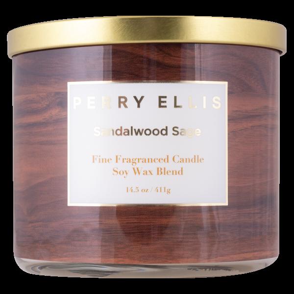 Perry Ellis Sandalwood Sage Candle